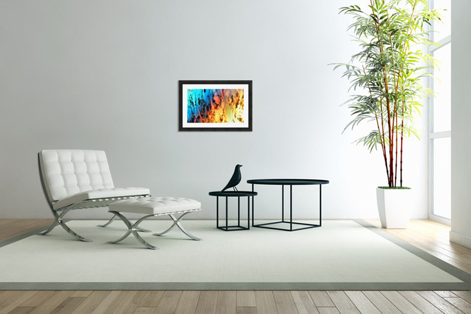 Fire Woman in Custom Picture Frame
