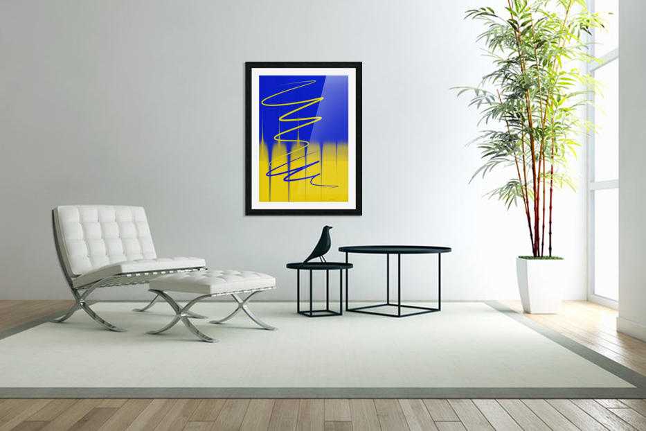 interaction of colors in Custom Picture Frame