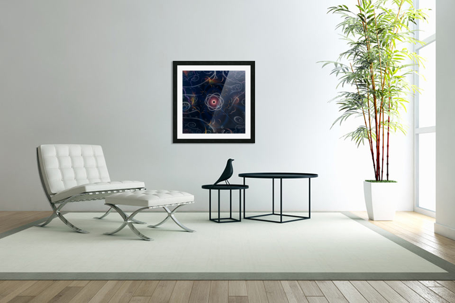 Time and Matter in Custom Picture Frame