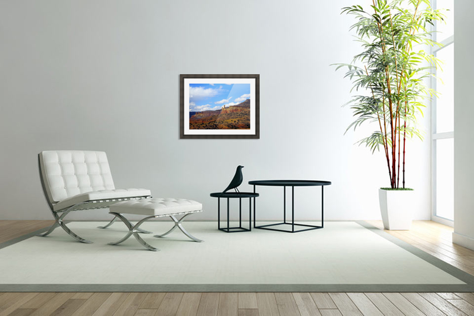 Chimney Rock Ghost Ranch NM  in Custom Picture Frame