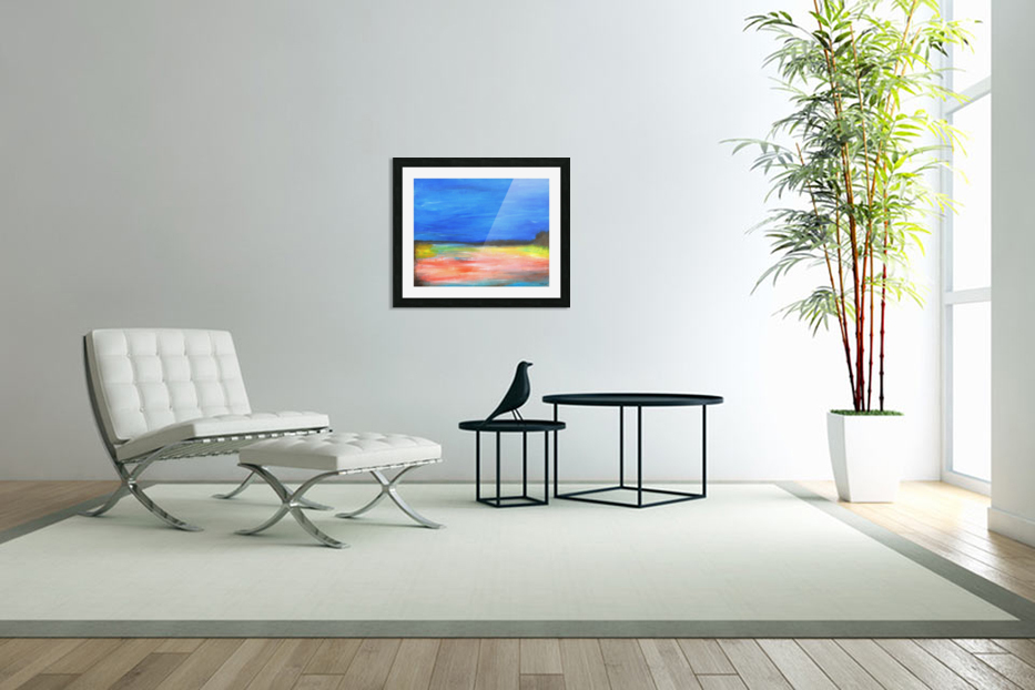 Colors of a Quiet Day in Custom Picture Frame