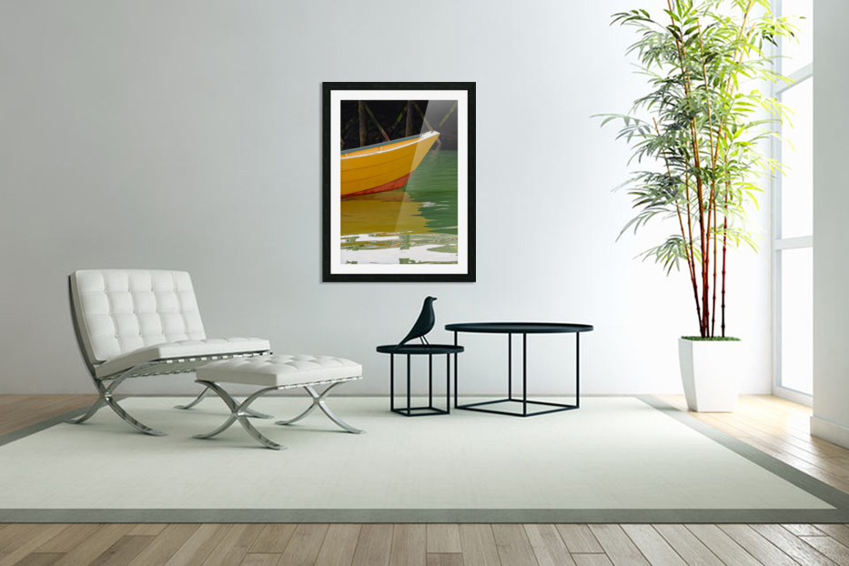 Reflect in Custom Picture Frame