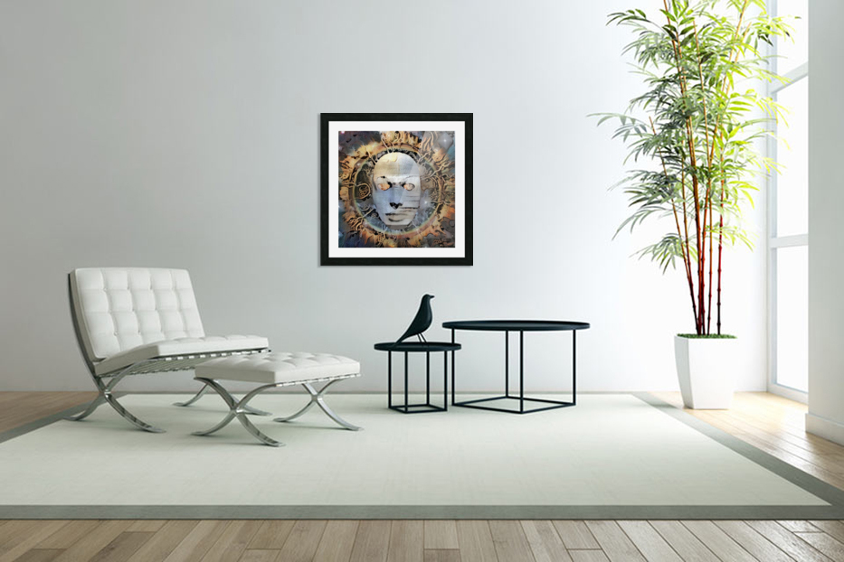 The Mask of Mystery in Custom Picture Frame