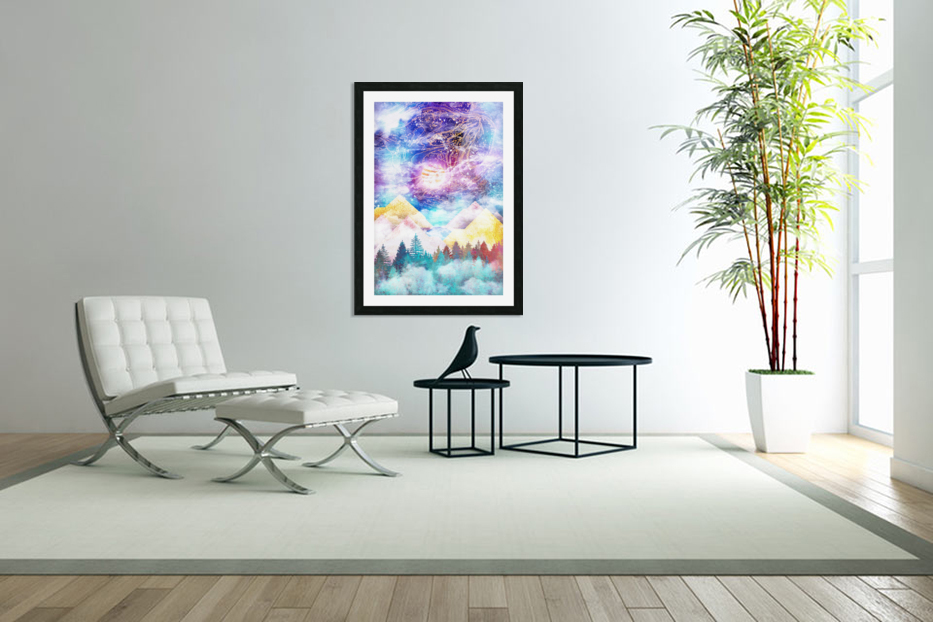 Beauty of Nature   Illustration VI in Custom Picture Frame