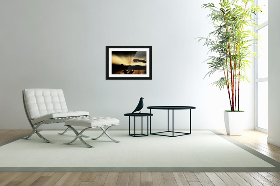 Ray of light in Custom Picture Frame