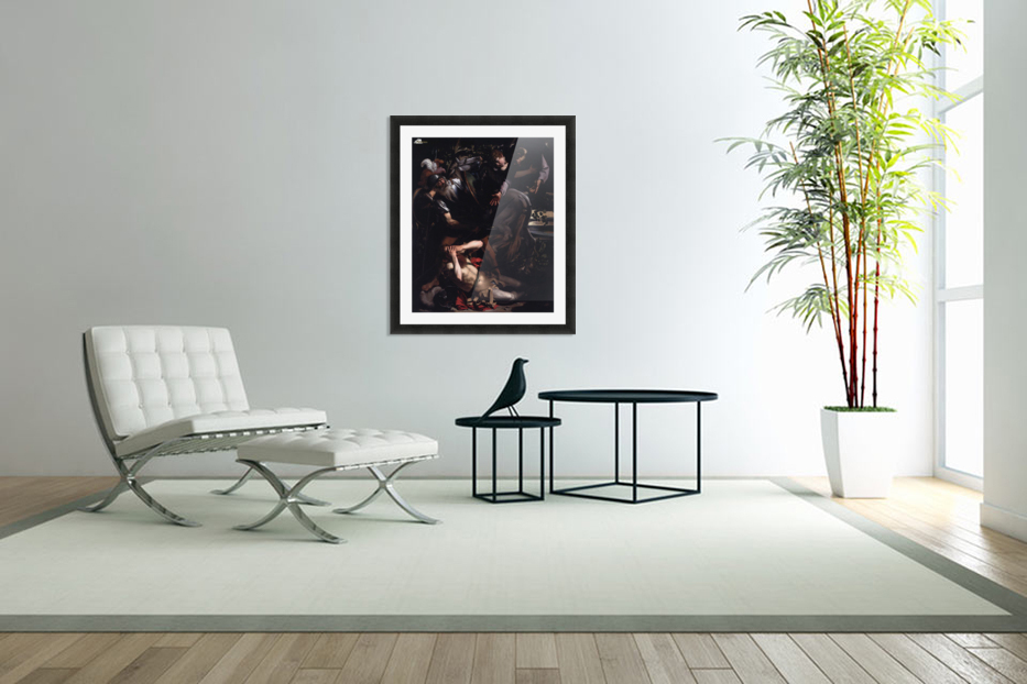 The Conversion of St. Paul in Custom Picture Frame