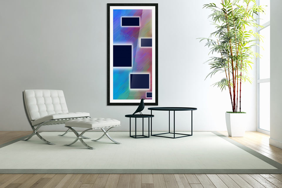 Beautiful illustration for interior decoration 5 in Custom Picture Frame