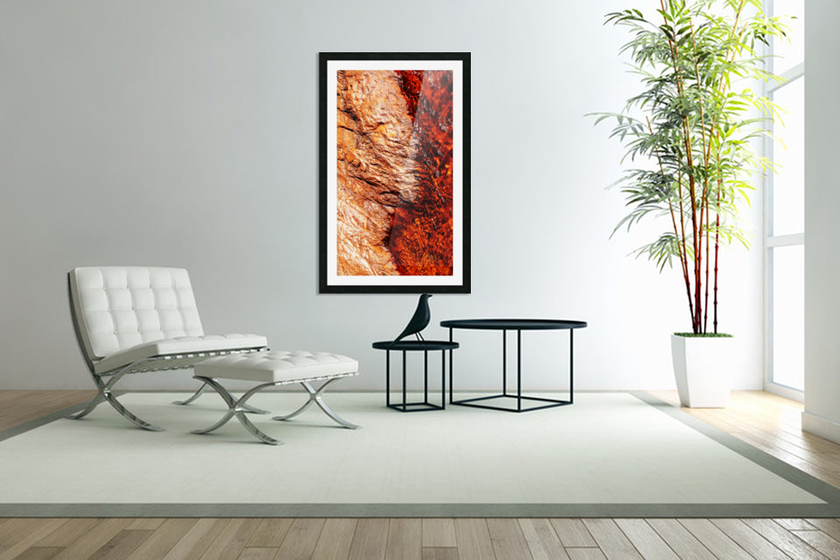 Australia Rocks - Abstract 28 in Custom Picture Frame
