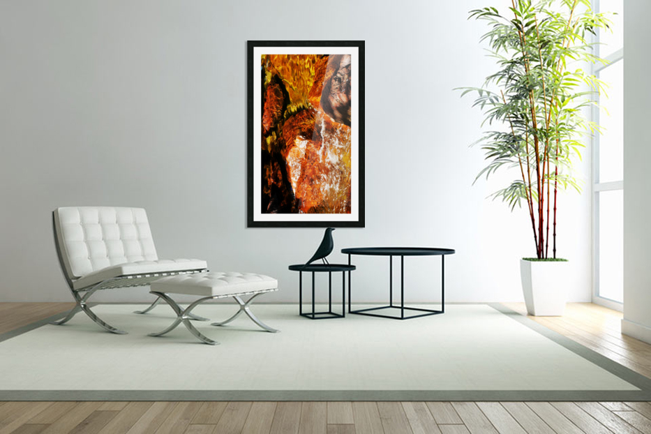 Australia Rocks - Abstract 36 in Custom Picture Frame