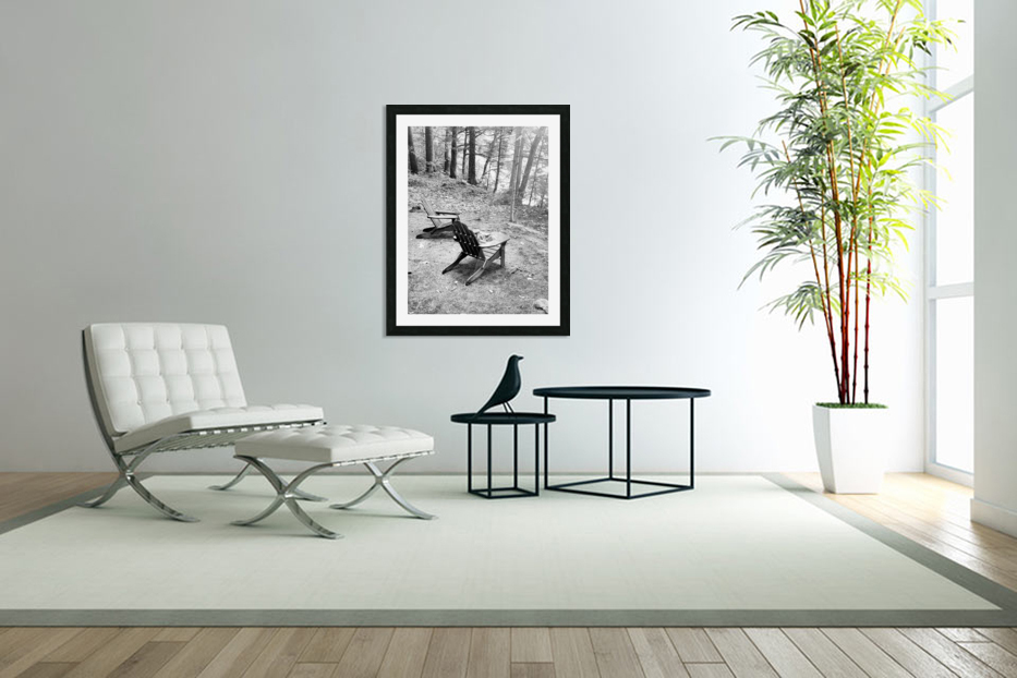 Relaxation spot  in Custom Picture Frame