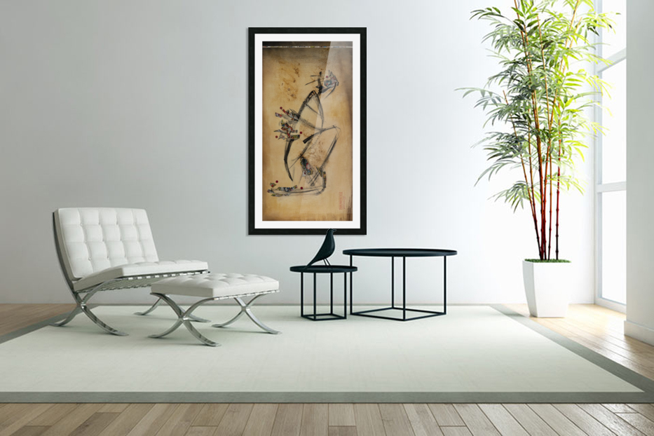 Japanese woman1 in Custom Picture Frame