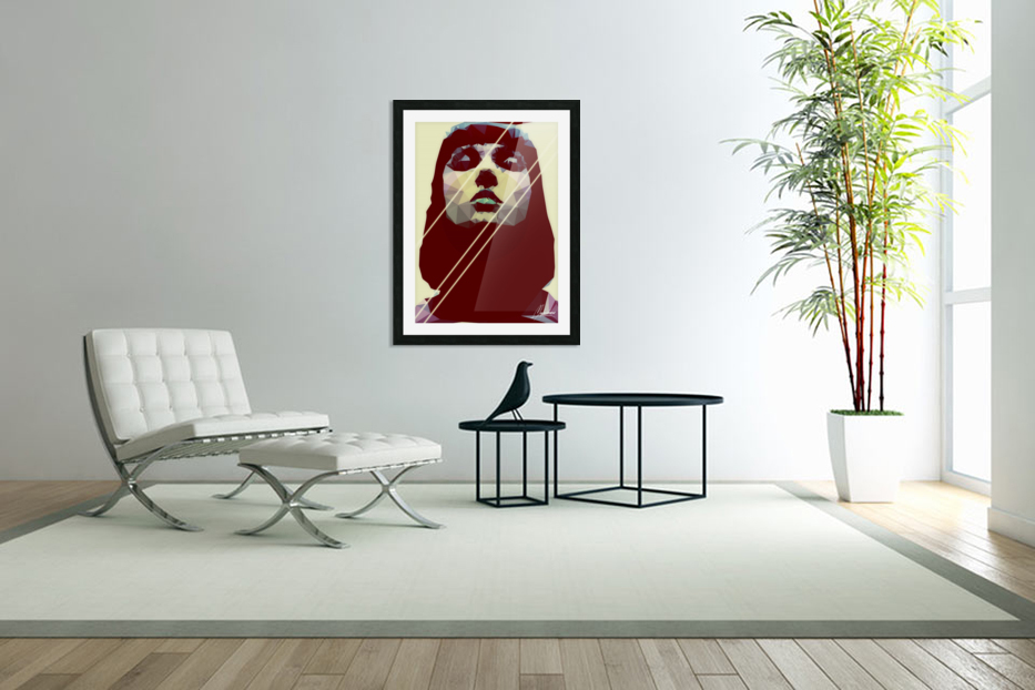 Surreal Identity in Custom Picture Frame