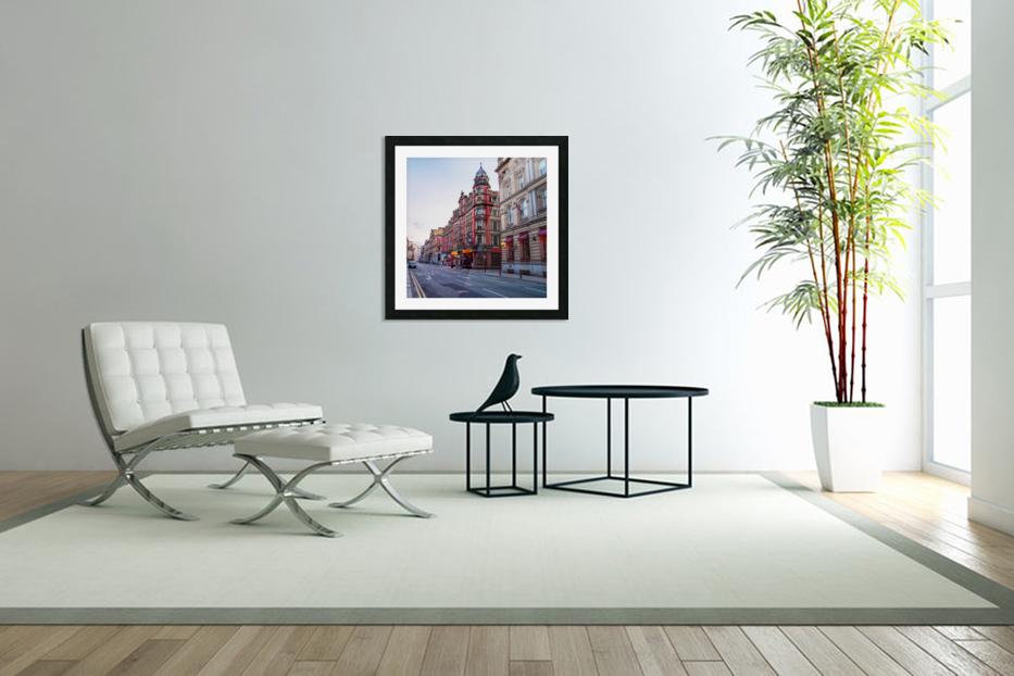 Liverpool street in Custom Picture Frame