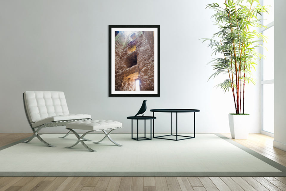 Kenilworth Castle Ruins Colour in Custom Picture Frame