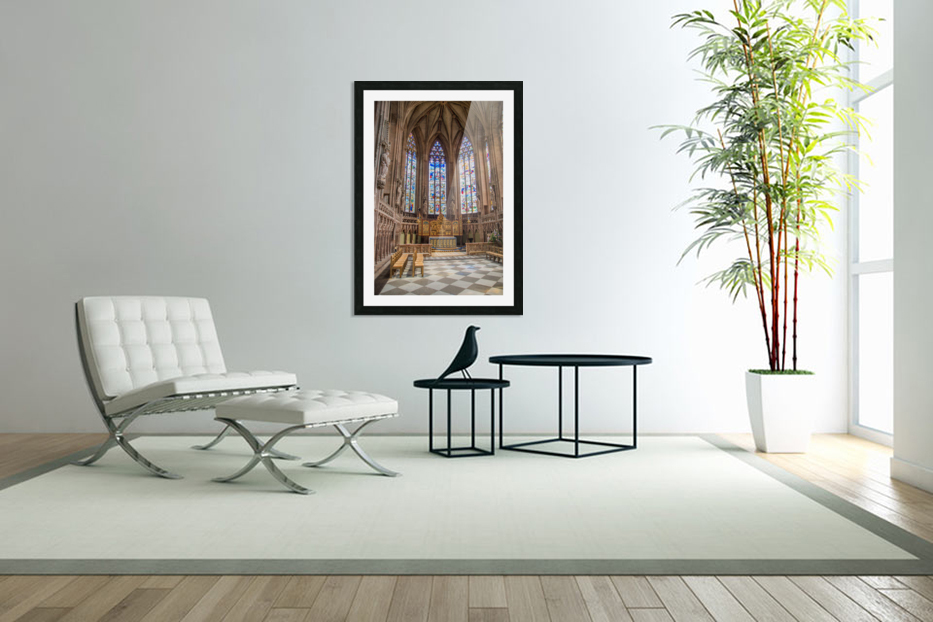 Litchfield Cathedral in Custom Picture Frame