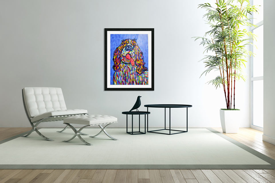 Colorful Smile in Custom Picture Frame
