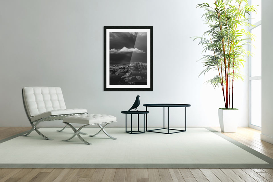 Above The Falls in Custom Picture Frame