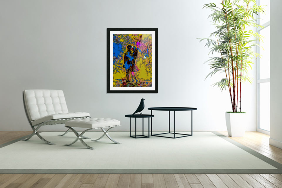 abstract love in Custom Picture Frame