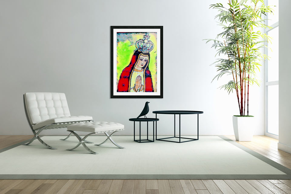 saint abstract in Custom Picture Frame