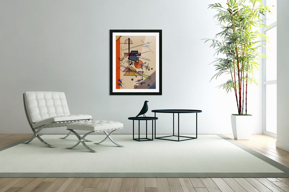 Abstract Composition 522 in Custom Picture Frame