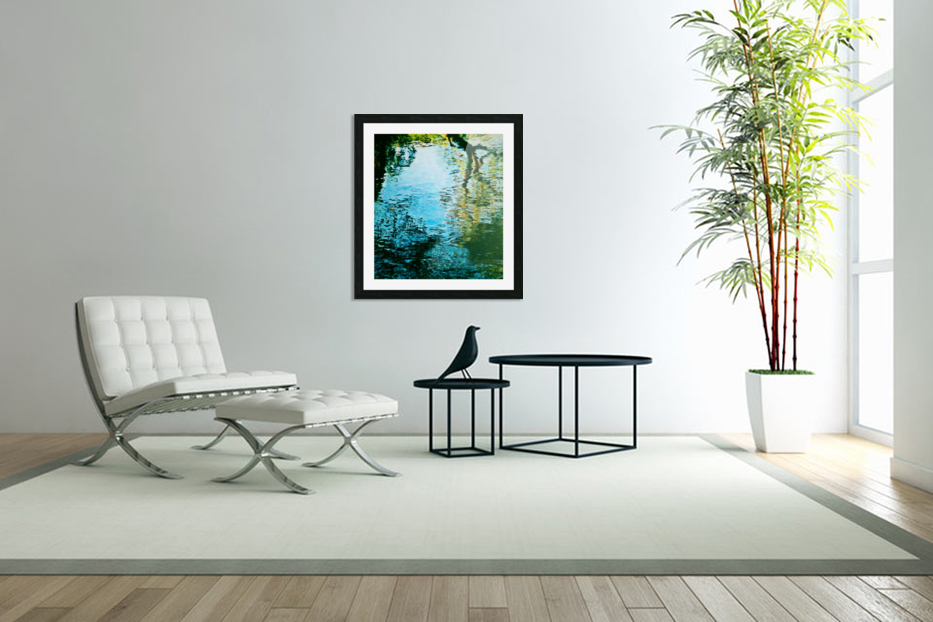 Nature reflections in Custom Picture Frame