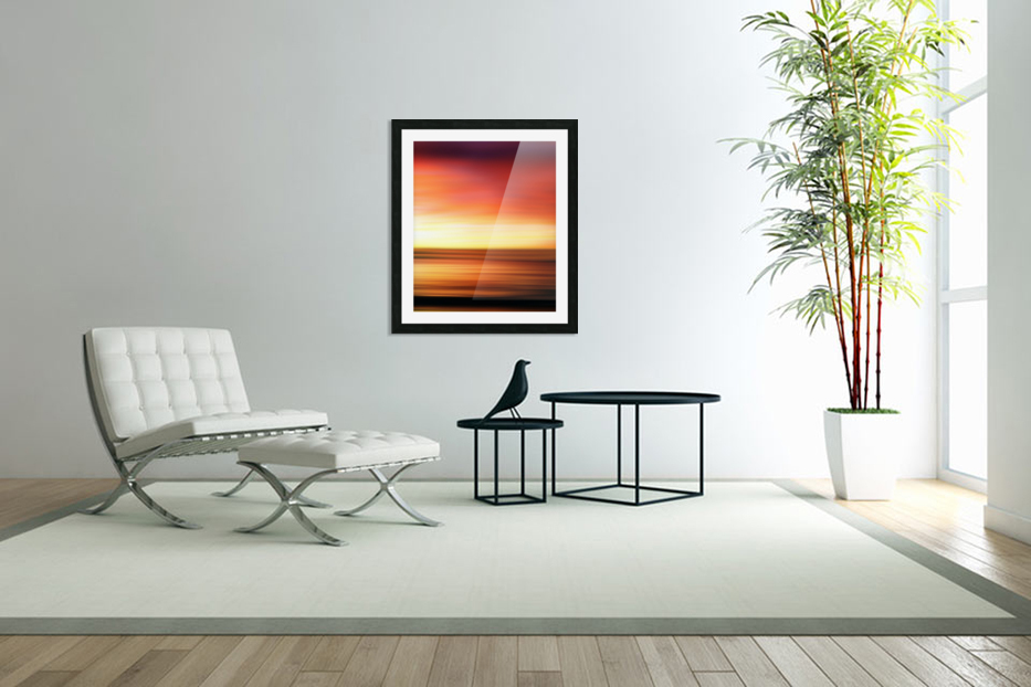 Abstract Landscape 7 in Custom Picture Frame