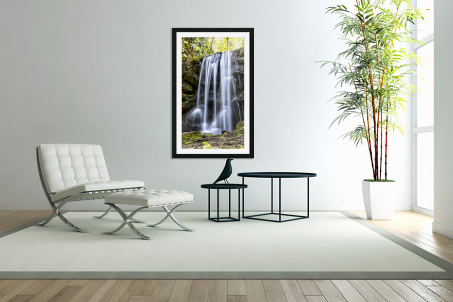 Rainbow Springs Falls in Custom Picture Frame