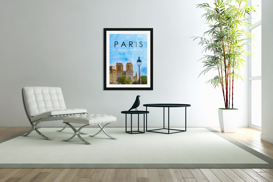 Paris...is always a good idea in Custom Picture Frame