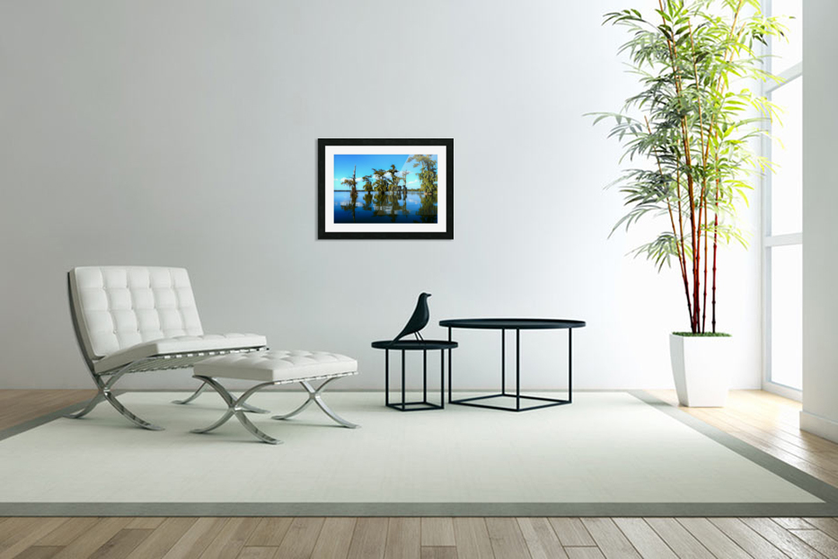 Reflect Much in Custom Picture Frame