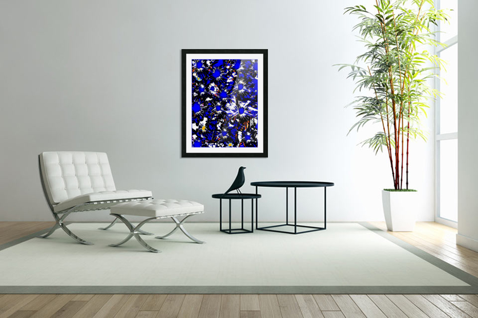A Cluster of Emotions in Custom Picture Frame