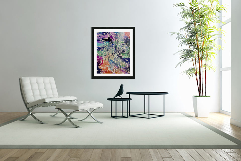 Abstract Composition 781 in Custom Picture Frame