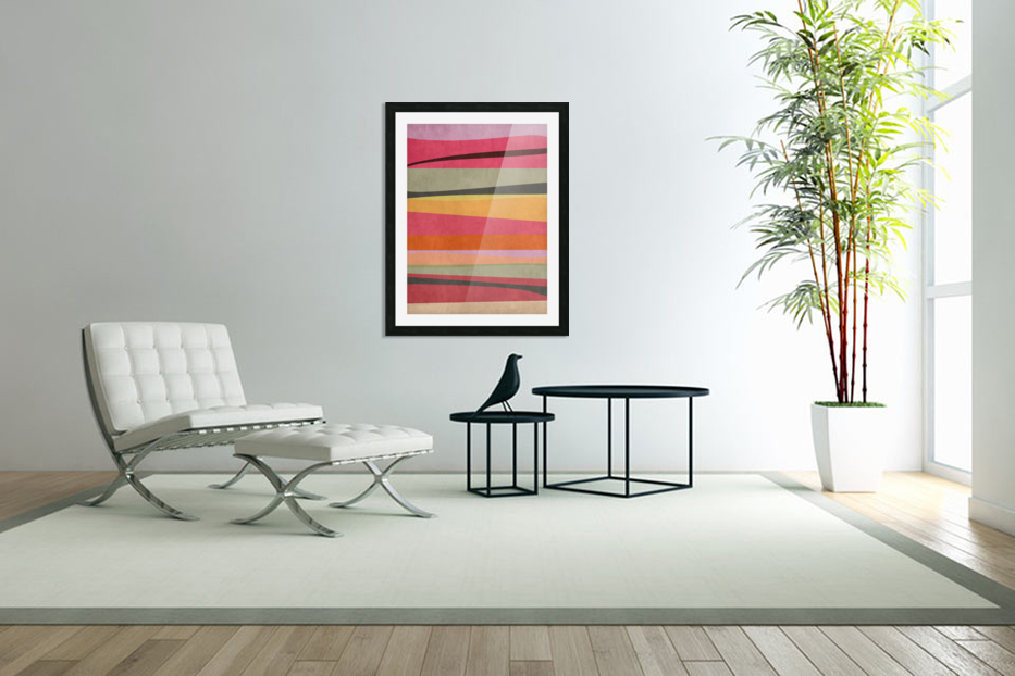 Abstract Composition 776 in Custom Picture Frame