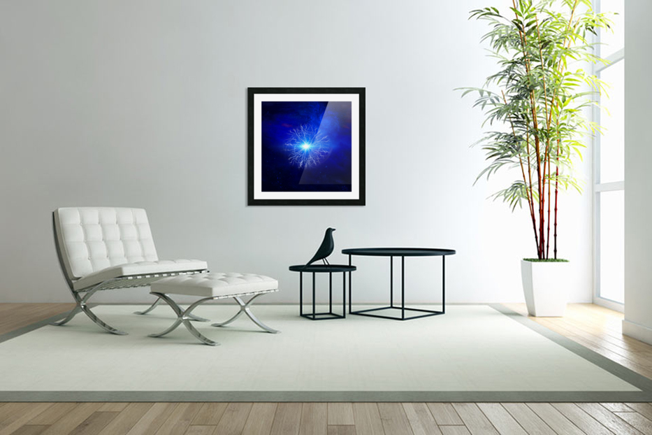 Pure Energy in Custom Picture Frame