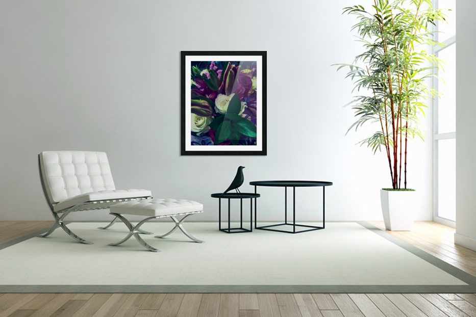 floral in Custom Picture Frame