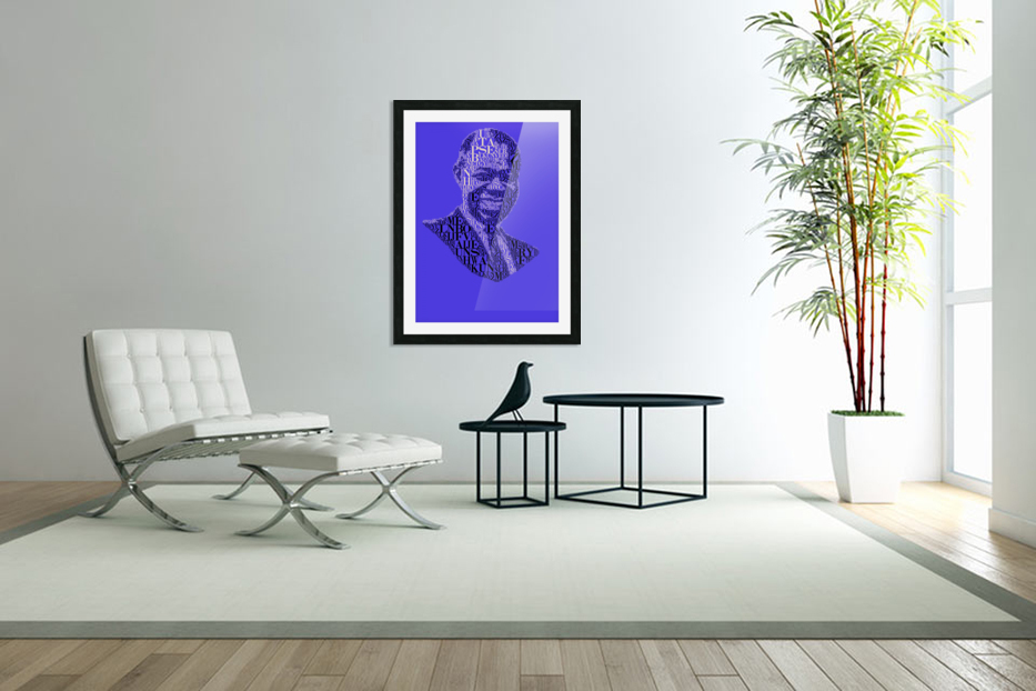 Louis Amstrong in Custom Picture Frame