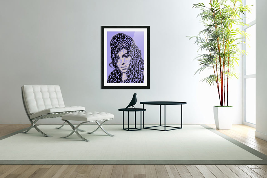 Amy Winehouse2 in Custom Picture Frame
