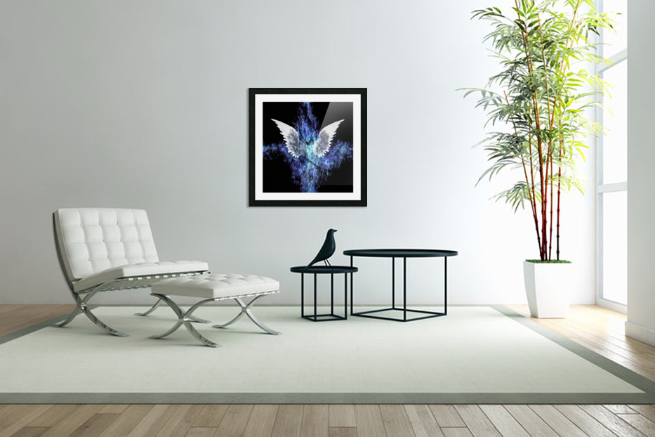 Wings Painting in Custom Picture Frame