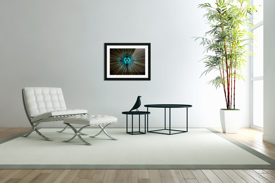 Aura or Soul in Custom Picture Frame