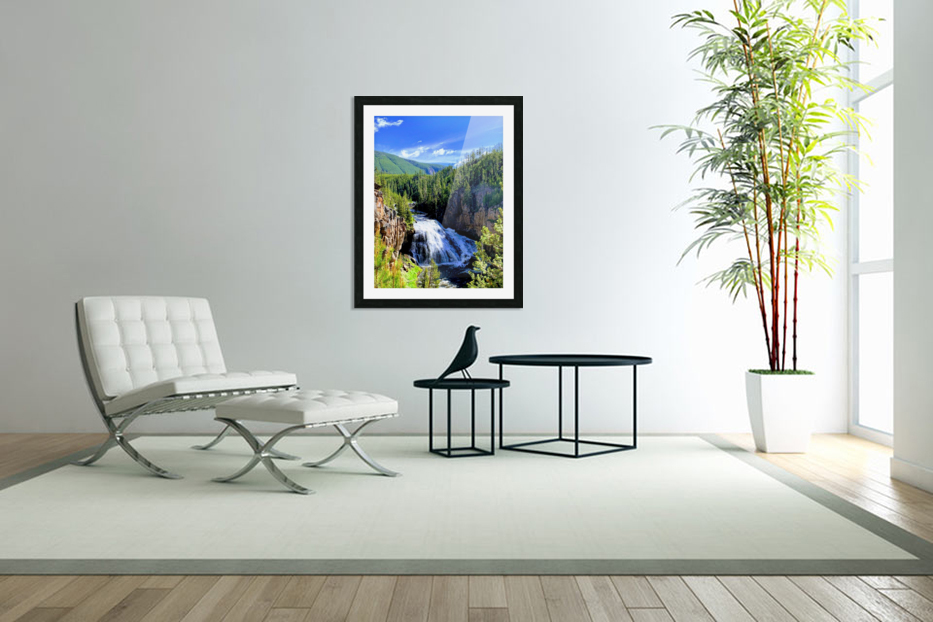 Majestic Waters in Custom Picture Frame