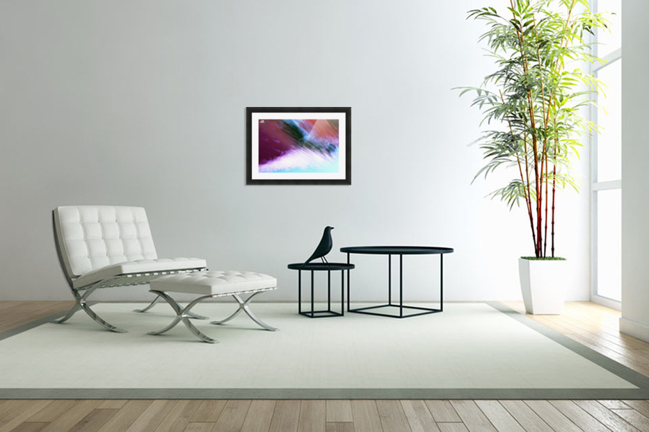 Water fall abstraction in Custom Picture Frame