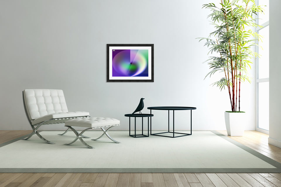 Heart Abstraction in Custom Picture Frame