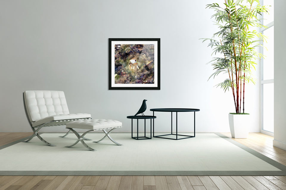 Human Souls in Tunnel of Light in Custom Picture Frame