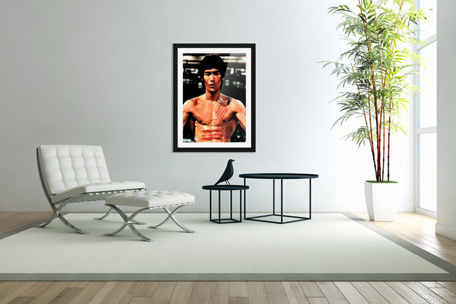 bruce lee1a in Custom Picture Frame