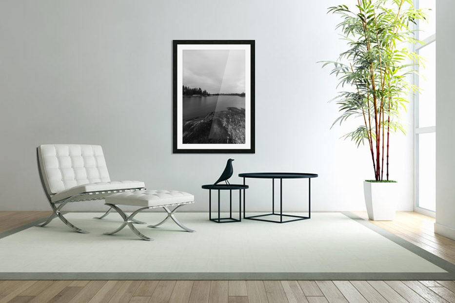 Elton Lake in Custom Picture Frame