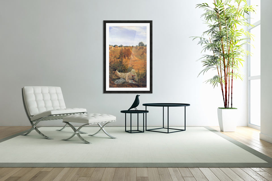 94 degrees in the shade by Alma-Tadema in Custom Picture Frame