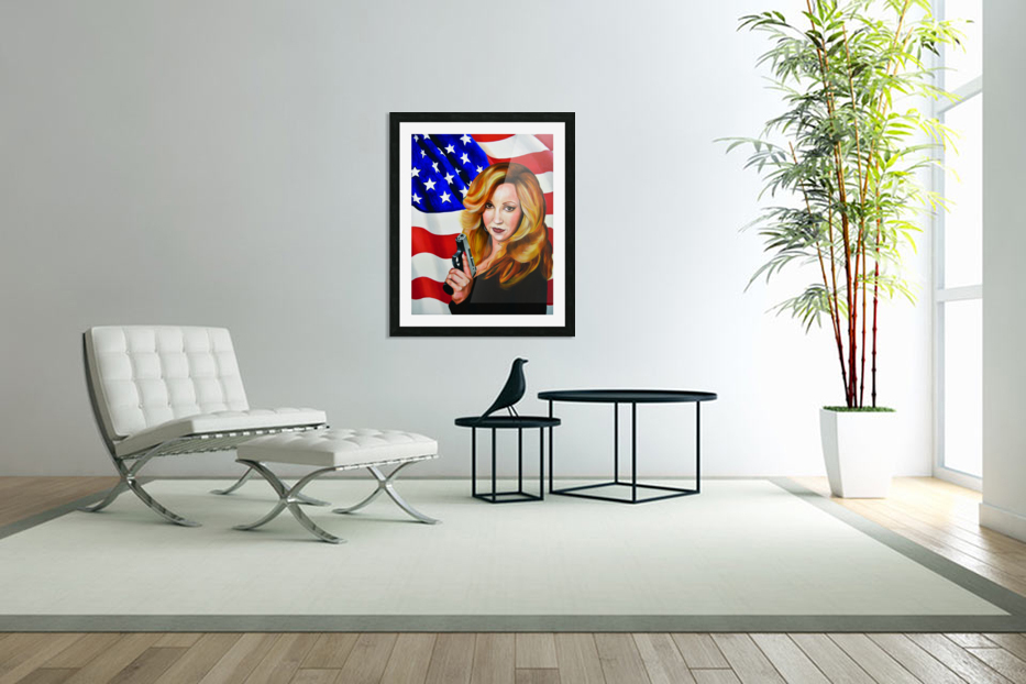 Murica in Custom Picture Frame