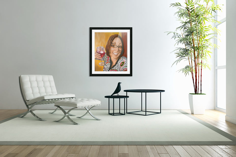 Auntie Bananas in Custom Picture Frame