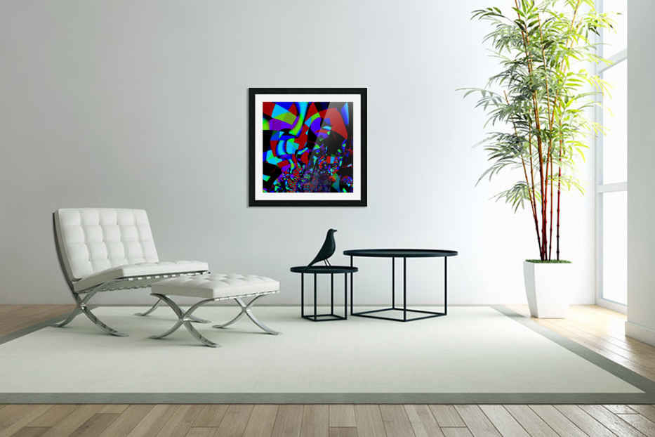 Jazz_Fusion_Series_1 in Custom Picture Frame