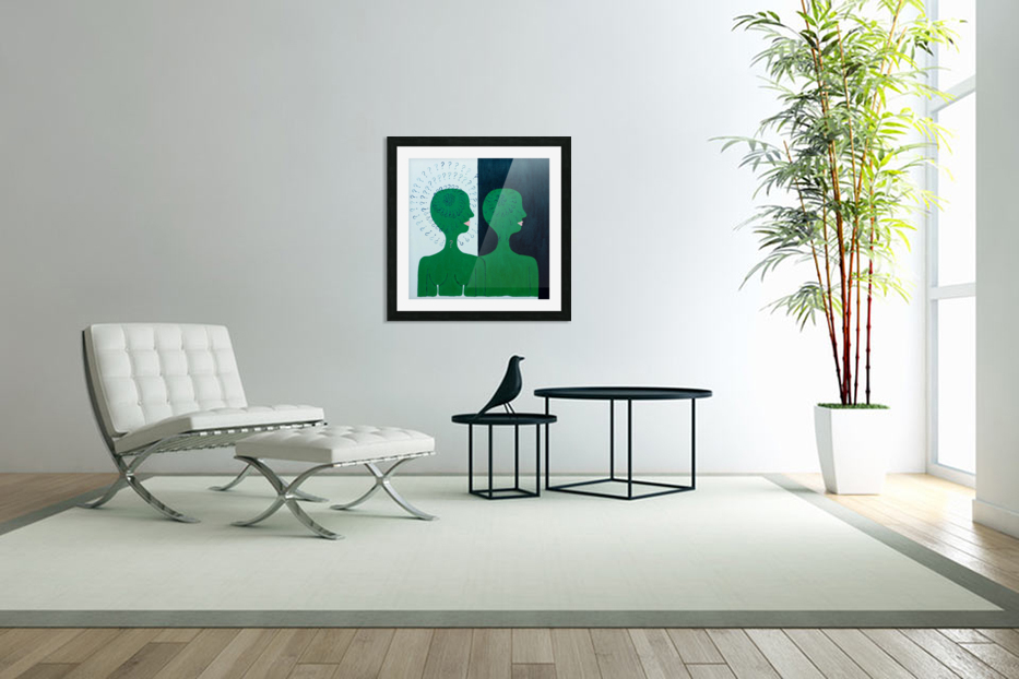 Humans in Custom Picture Frame