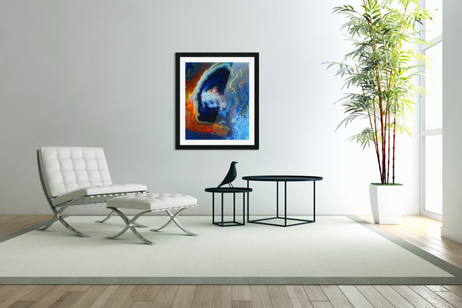 Deep Space in Custom Picture Frame